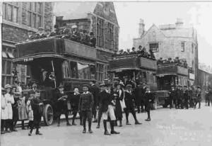 Charabanc R Shop 1st June 1912