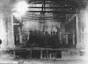 Aftermath of the 1930 Fire