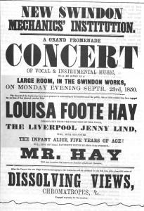 Advertising Poster 1843