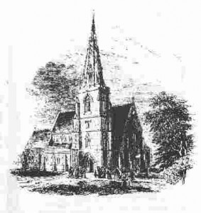 St Marks' Church Swindon at Construction